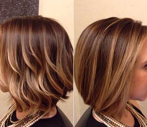 15 Balayage Bob Hair In 2018 | Short Bob Hairstyles | Pinterest With Stacked Copper Balayage Bob Hairstyles (View 2 of 25)
