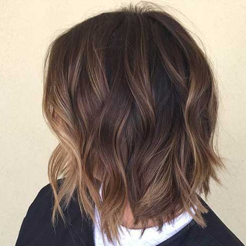15 Balayage Bob Hair   Short Hairstyles 2017 – 2018   Most Popular Intended For Short Stacked Bob Hairstyles With Subtle Balayage (View 2 of 25)