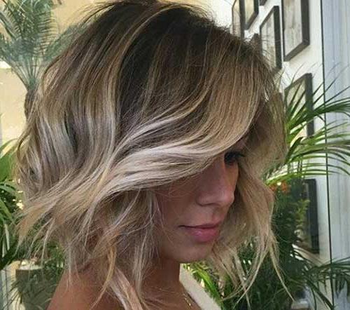 15 Balayage Bob Hair | Short Hairstyles 2017 – 2018 | Most Popular Intended For Short Wavy Blonde Balayage Bob Hairstyles (View 14 of 25)