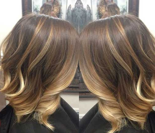 15 Balayage Bob Haircuts | Bob Hairstyles 2018 – Short Hairstyles With Balayage Bob Haircuts With Layers (View 5 of 25)