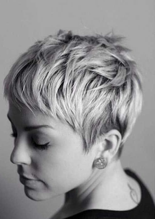 15 Best Messy Pixie Hairstyles | Hair, Face, Nails | Pinterest Within Messy Pixie Haircuts With V Cut Layers (View 14 of 25)