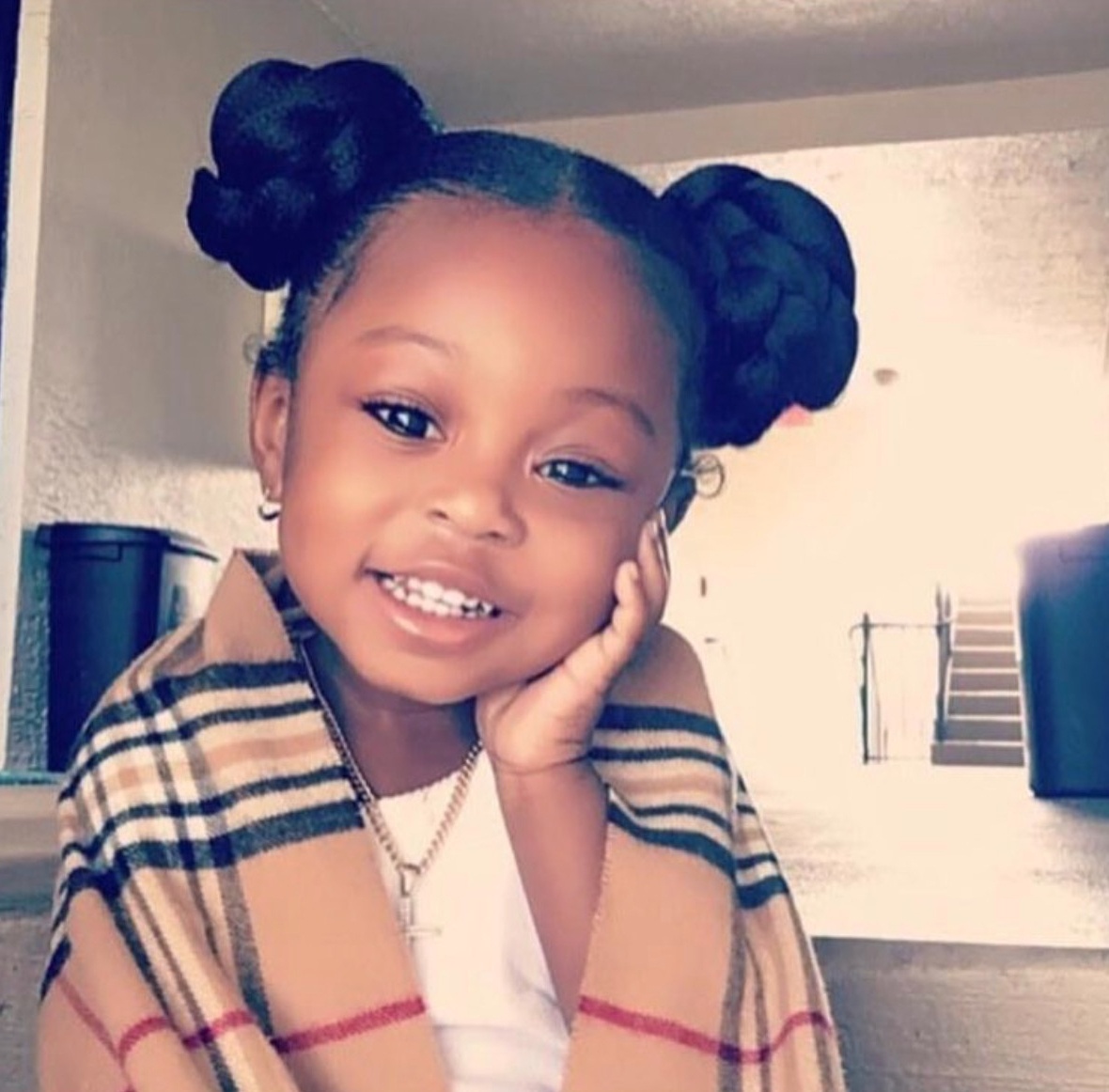 15+ Black Baby Girls Hairstyle [Download] | Cool Hairstyle For Men Inside Black Baby Hairstyles For Short Hair (View 5 of 25)
