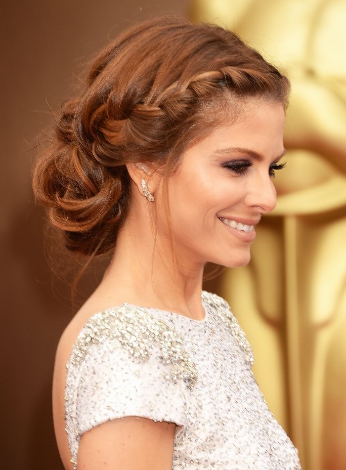 15 Braided Hairstyles That Are Actually Cool (We Swear) | Byrdie Pertaining To Fancy Updo With A Side Ponytails (View 19 of 25)