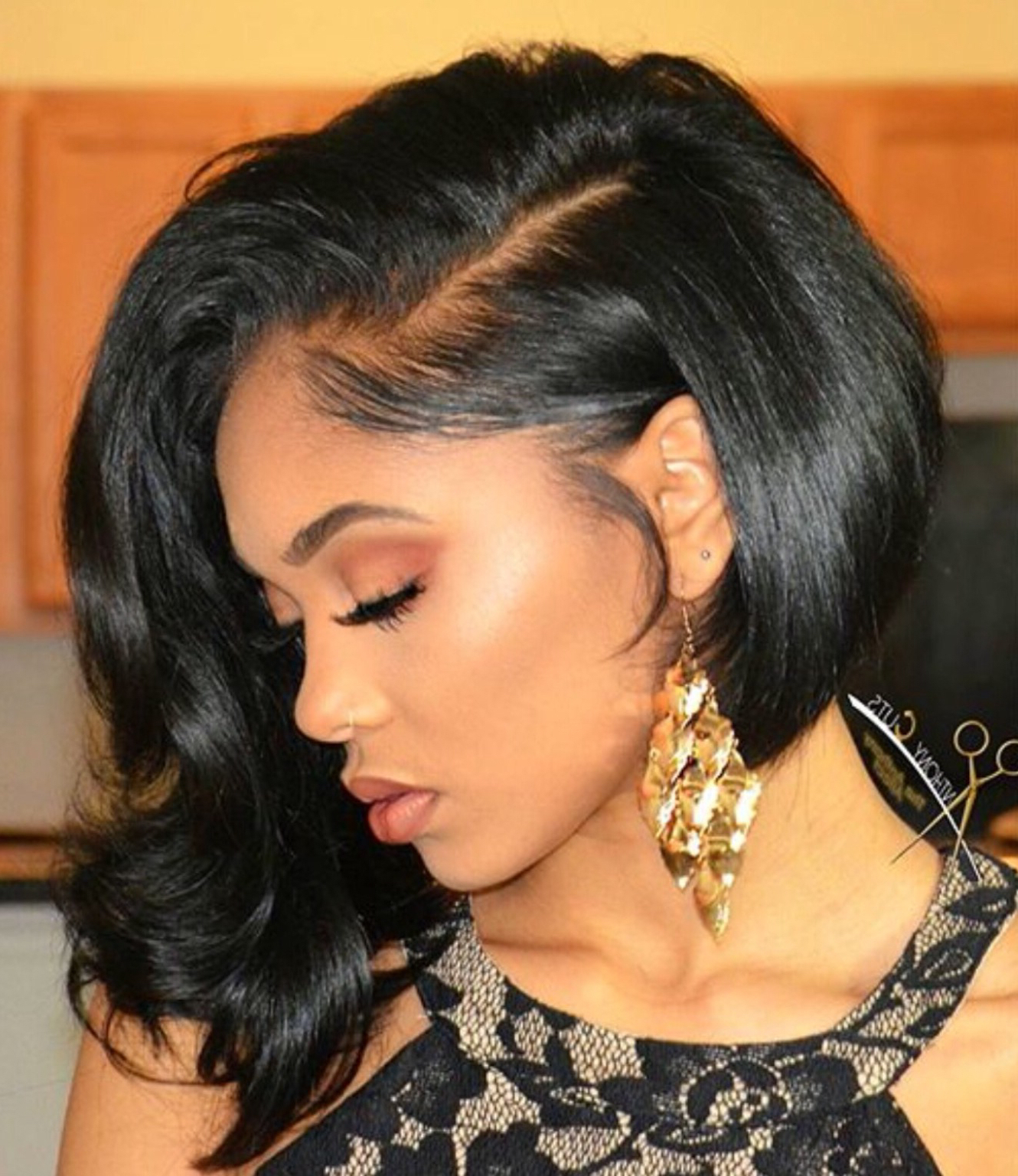 15 Curly Weave Hairstyles For Long And Short Hair Types Pertaining To Short Black Hairstyles With Tousled Curls (View 3 of 25)