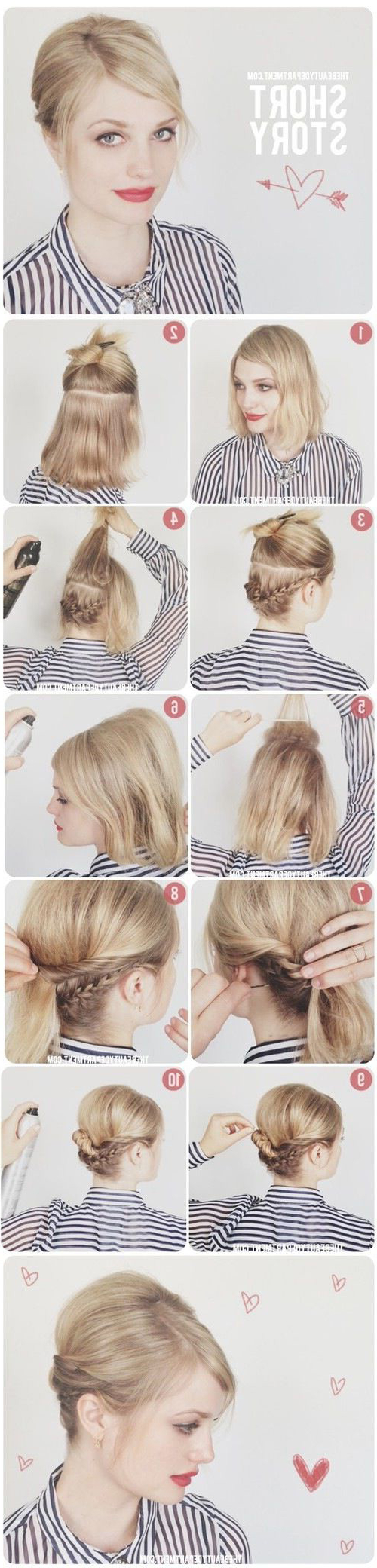 15 Easy No Heat Hairstyles For Dirty Hair – Gurl | Gurl Within Beach Hairstyles For Short Hair (View 14 of 25)