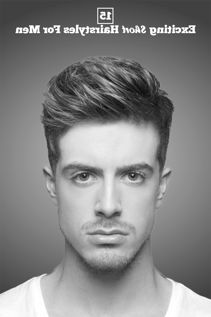 15 Exciting Short Hairstyles For The Minimalistic Men | Hair Styles With Short Straight Hairstyles For Men (View 17 of 25)