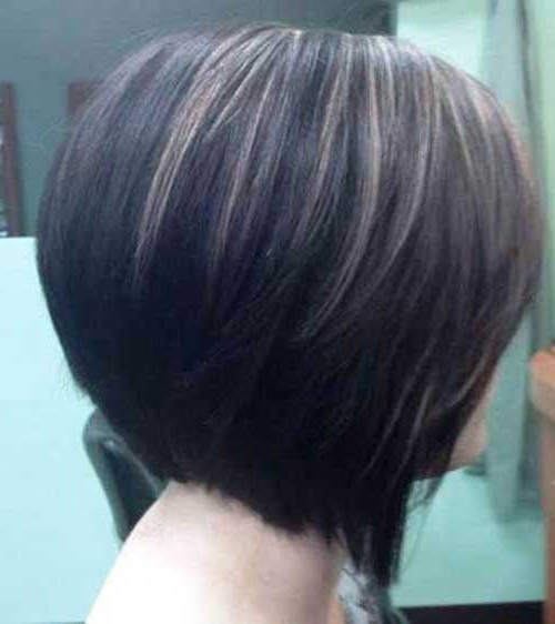 15 Highlighted Bob Hairstyles   Short Hairstyles 2017 – 2018   Most Inside Short Crop Hairstyles With Colorful Highlights (View 16 of 25)