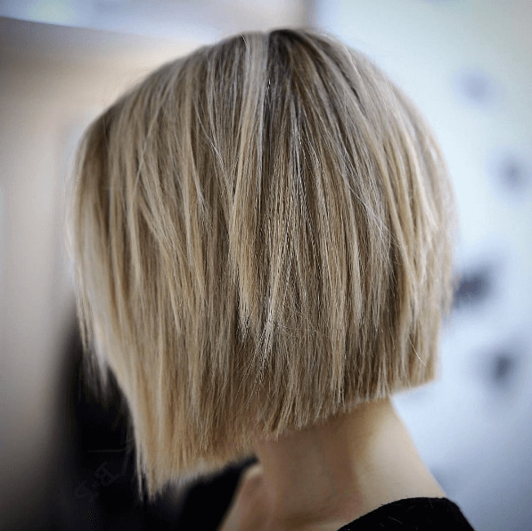 15 Killer Blonde Bob Hairstyles To Inspire Your Next Salon Trip With Choppy Wispy Blonde Balayage Bob Hairstyles (View 23 of 25)