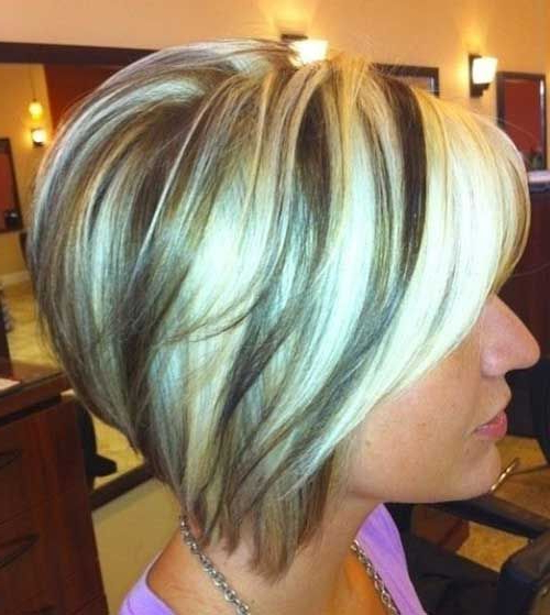 15 Short Blonde Highlighted Hair   Ggj   Pinterest   Hair, Hair For Stacked Bob Hairstyles With Highlights (View 15 of 25)