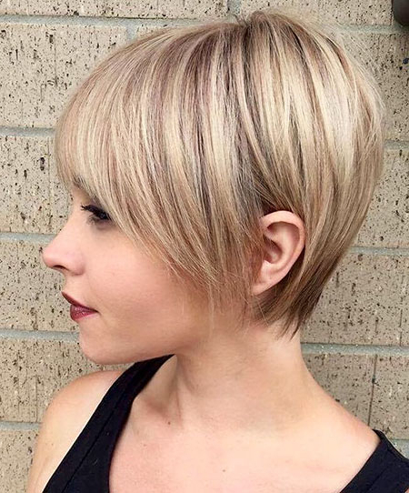 15 Short Pixie Cuts For Fine Hair | Short Hairstyles 2017 – 2018 Inside Choppy Pixie Bob Haircuts With Stacked Nape (View 4 of 25)