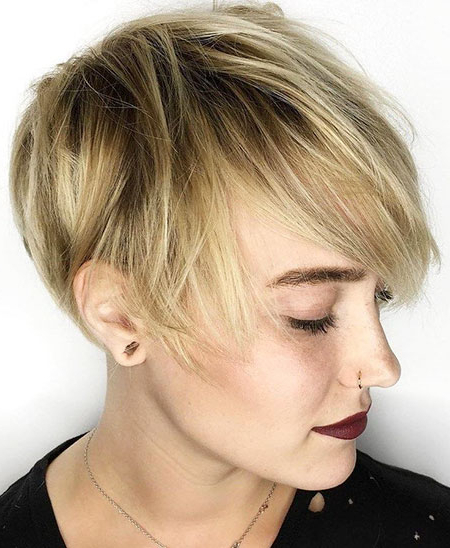 15 Short Pixie Cuts For Fine Hair | Short Hairstyles 2017 – 2018 Inside Sunny Blonde Finely Chopped Pixie Haircuts (View 2 of 25)