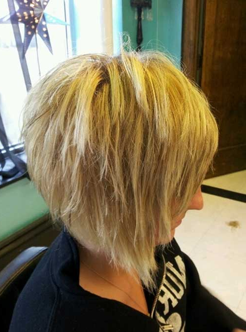 15 Short Razor Haircuts   Short Hairstyles 2017 – 2018   Most With Regard To Razored Brown Bob Hairstyles (View 13 of 25)