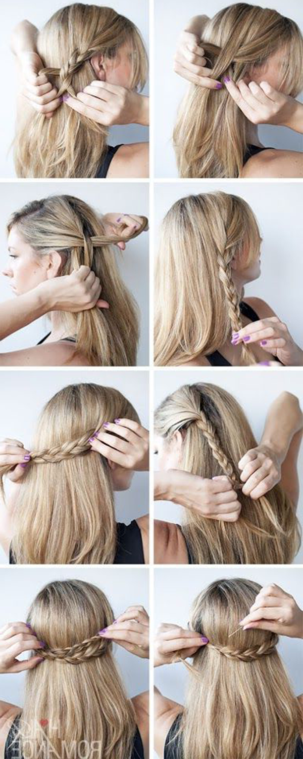 15 Simple But Cute Graduation Hairstyles To Wear Under Your Cap Intended For Graduation Cap Hairstyles For Short Hair (View 16 of 25)