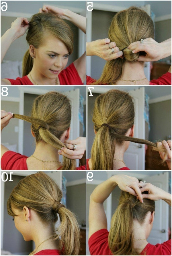 15 Simple Hairstyle Ideas Ready For Less Than 2 Minutes And Looks Intended For 2 Minute Side Pony Hairstyles (View 2 of 25)