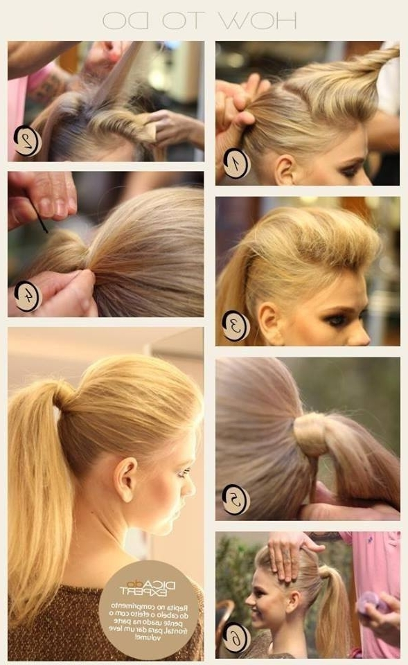 15 Simple Hairstyle Ideas Ready For Less Than 2 Minutes And Looks With 2 Minute Side Pony Hairstyles (View 4 of 25)