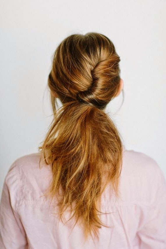 15 Types Of Ponytail Hairstyles – Best Style For Women To Wear Regarding Tangled And Twisted Ponytail Hairstyles (View 7 of 25)