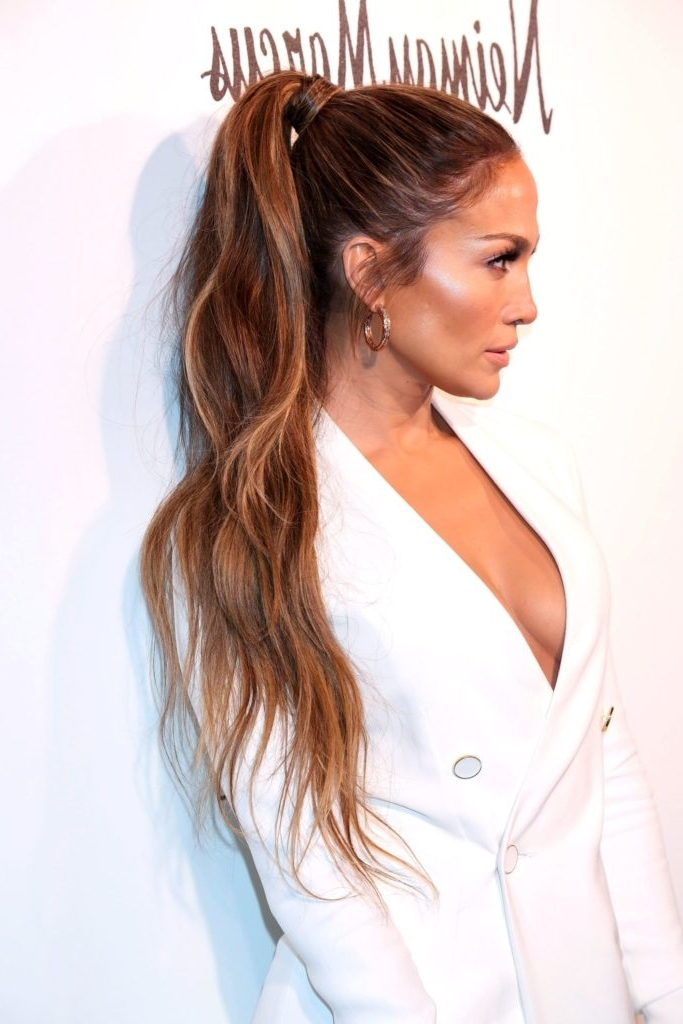 15 Types Of Ponytail Hairstyles – Best Style For Women To Wear Regarding Wrapped High Ponytails (View 11 of 25)