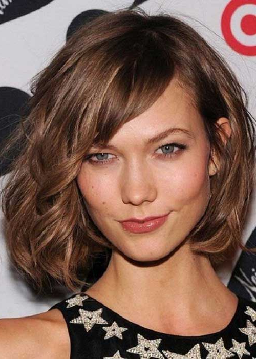 15 Unique Chin Length Layered Bob | Short Hairstyles 2017 – 2018 For Jaw Length Wavy Blonde Bob Hairstyles (View 10 of 25)