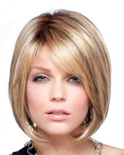 15 Unique Chin Length Layered Bob | Short Hairstyles 2017 – 2018 With Regard To Dark Blonde Rounded Jaw Length Bob Haircuts (View 4 of 25)