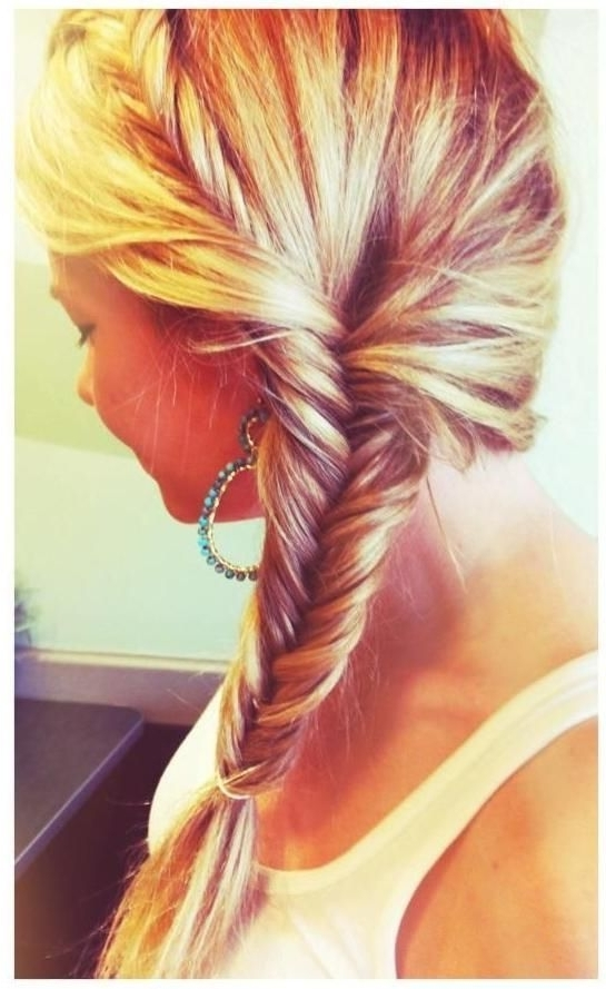 16 Fabulous Side Ponytail Hairstyles For 2016 – Pretty Designs Pertaining To Fabulous Fishtail Side Pony Hairstyles (View 9 of 25)