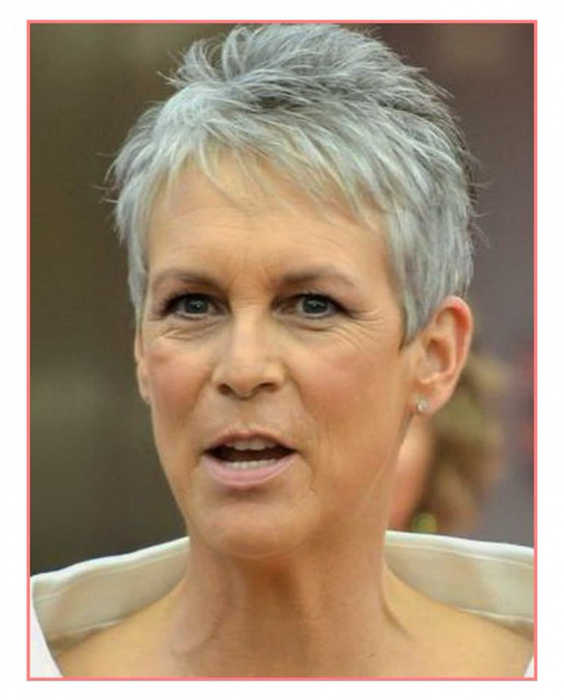 16 Gray Short Hairstyles And Haircuts For Women 2017 . (View 17 of 25)