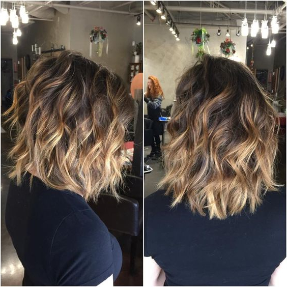 17 Best Medium Wavy Hairstyles 2018 – 2019 | On Haircuts Pertaining To Wavy Bronde Bob Shag Haircuts (View 14 of 25)
