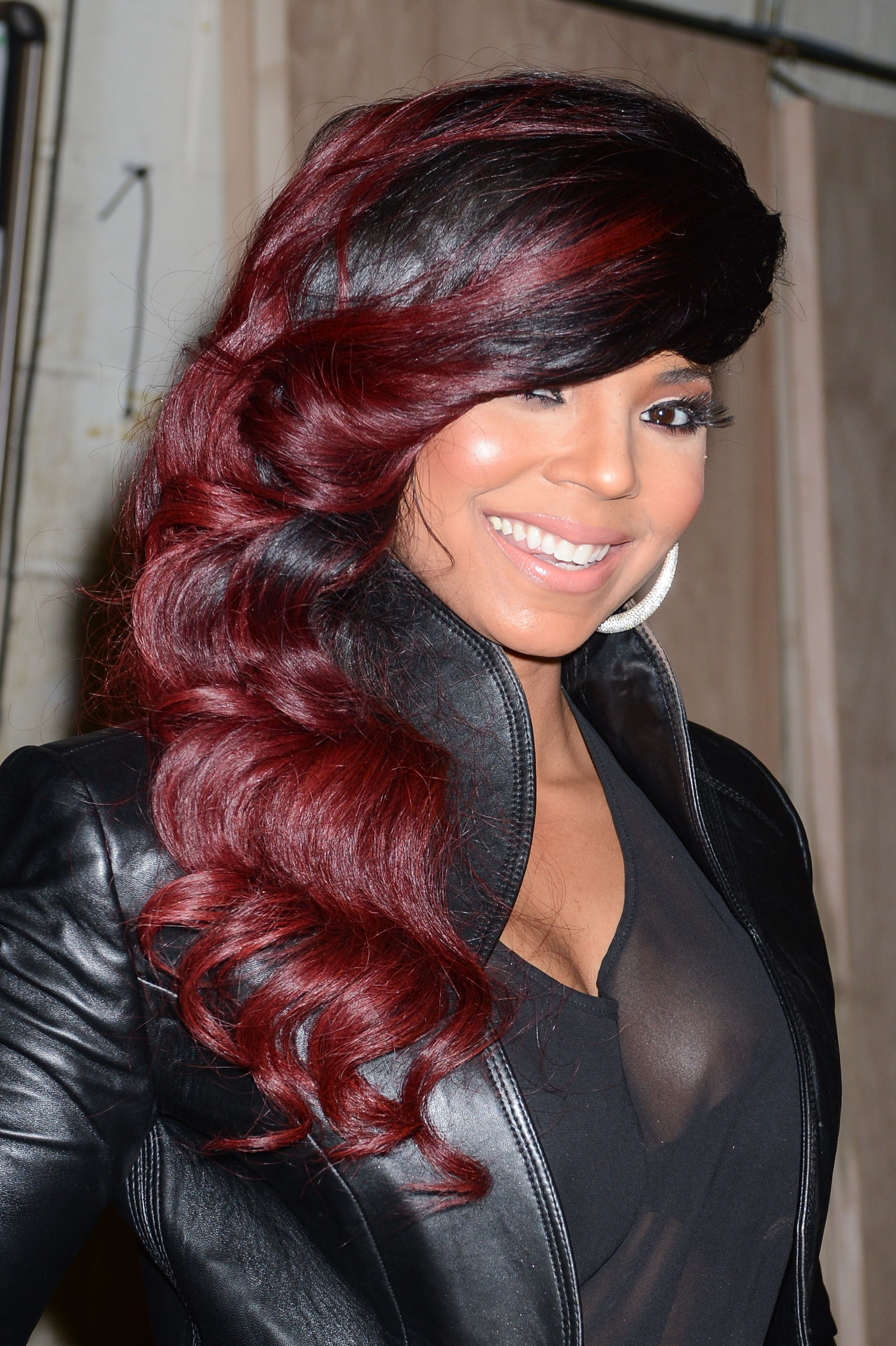 17 Burgundy Hair Color Ideas – Celebrity Burgundy Hairstyles For Burgundy Short Hairstyles (View 20 of 25)