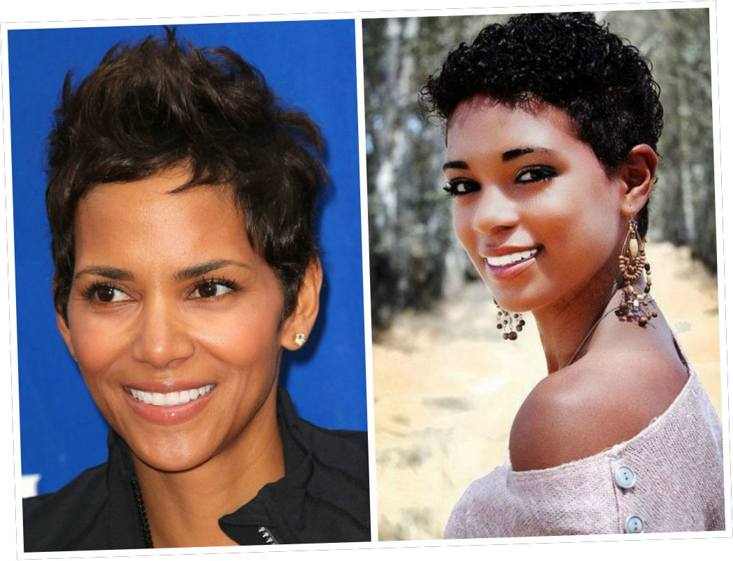 17+ Easy Short Hairstyles For Black Women With Oval Faces 2018 Within Short Hairstyles For Black Women With Oval Faces (View 9 of 25)