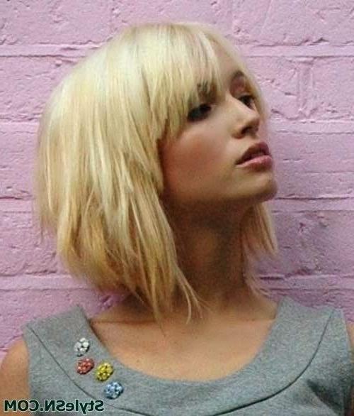 17 Medium Length Bob Haircuts: Short Hair For Women And Girls | Hair Regarding Voluminous Nape Length Inverted Bob Hairstyles (View 20 of 25)
