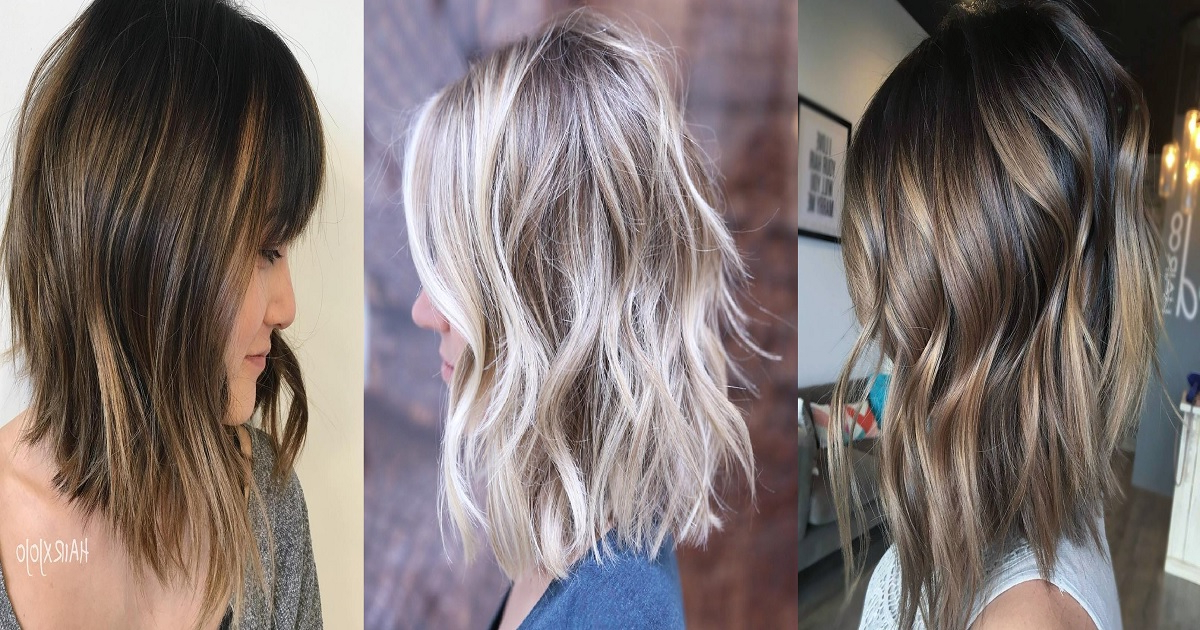 18 Long Choppy Bob Hairstyles For Brunettes And Blondes   Hairs (View 24 of 25)