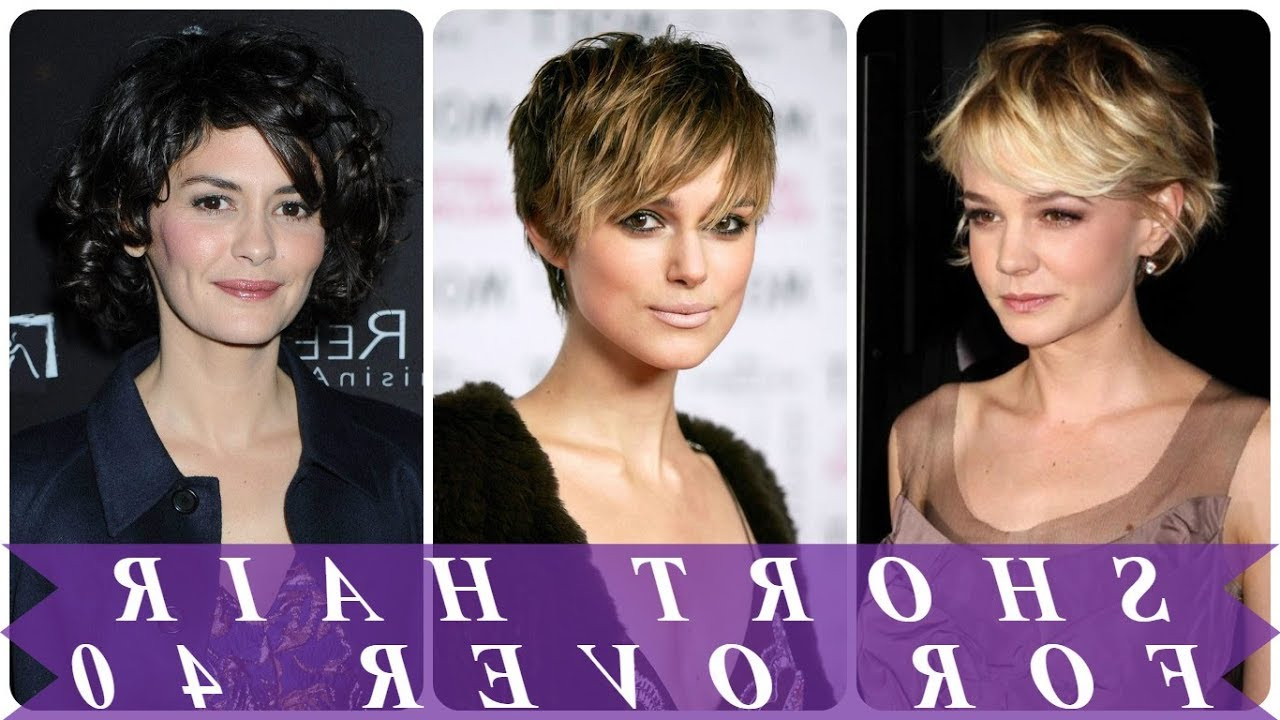 18 Perfect Ideas For Short Hairstyles For 40 Year Old Woman 2018 Inside Short Hairstyles For Over 40 Year Old Woman (View 6 of 25)