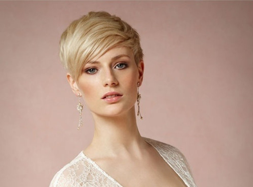 18 Qualified Short Hairstyles For Weddings For Bridesmaids ~ Louis With Regard To Short Hairstyles For Weddings For Bridesmaids (View 2 of 25)