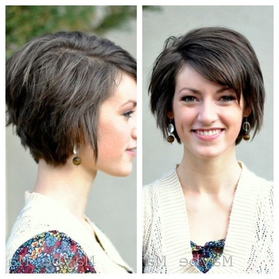 18 Short Hairstyles For Winter: Most Flattering Haircuts – Popular In Cute Shaped Crop Hairstyles (View 1 of 25)