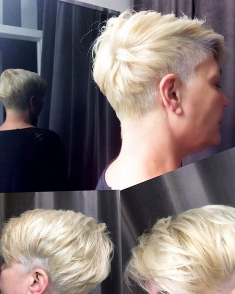 18 Short Hairstyles Perfect For Fine Hair – Popular Haircuts With Funky Pixie Undercut Hairstyles (View 12 of 25)