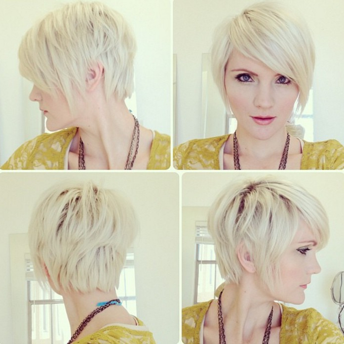 18 Simple Easy Short Pixie Cuts For Oval Faces – Short Haircuts 2018 Intended For Layered Pixie Hairstyles With Nape Undercut (View 23 of 25)