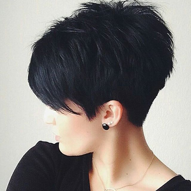 18 Simple Easy Short Pixie Cuts For Oval Faces – Short Haircuts 2018 Intended For Sexy Pixie Hairstyles With Rocker Texture (View 14 of 25)