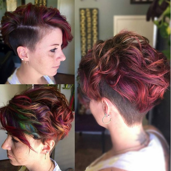 18 Textured Styles For Your Pixie Cut – Popular Haircuts With Textured Undercut Pixie Hairstyles (View 21 of 25)