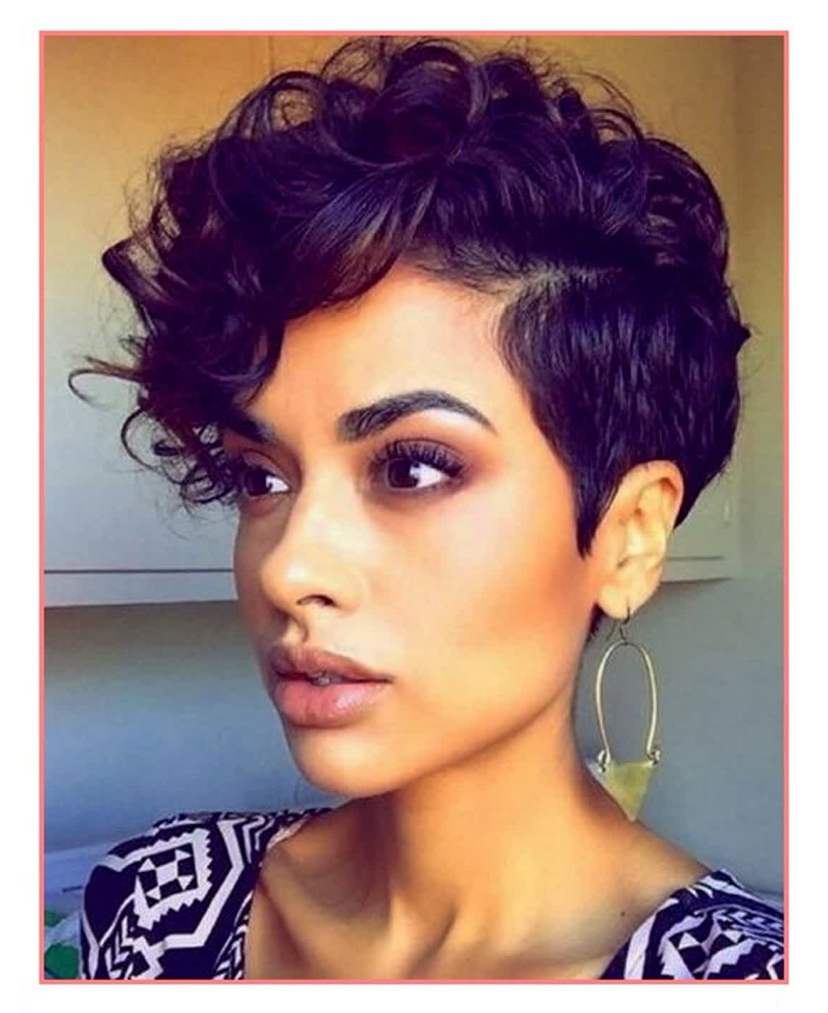18 Trend Cute Short Haircuts For Black Women ~ Louis Palace Within Cute Short Hairstyles For Black Women (View 1 of 25)