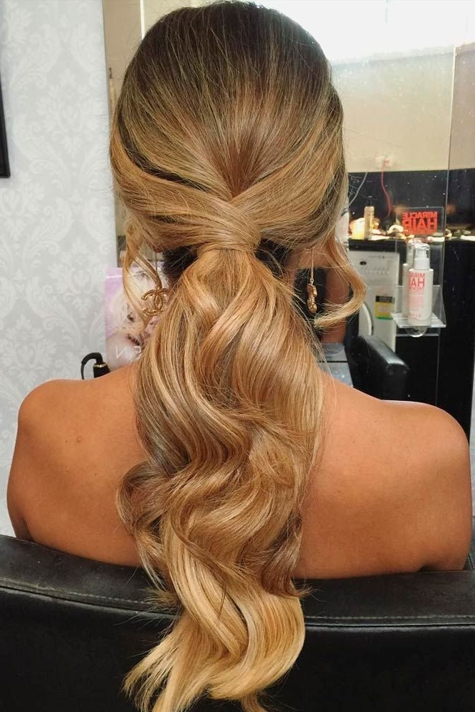 18 Ways How To Upgrade Your Ponytail Hairstyles And Look Better Than Intended For Long Classic Ponytail Hairstyles (View 2 of 25)