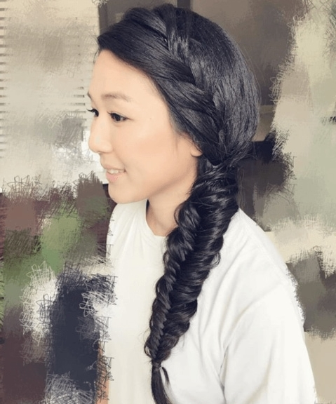 19 Fabulous Fishtail Hairstyle Ideas To Try In 2018 And Beyond Pertaining To Fabulous Fishtail Side Pony Hairstyles (View 10 of 25)