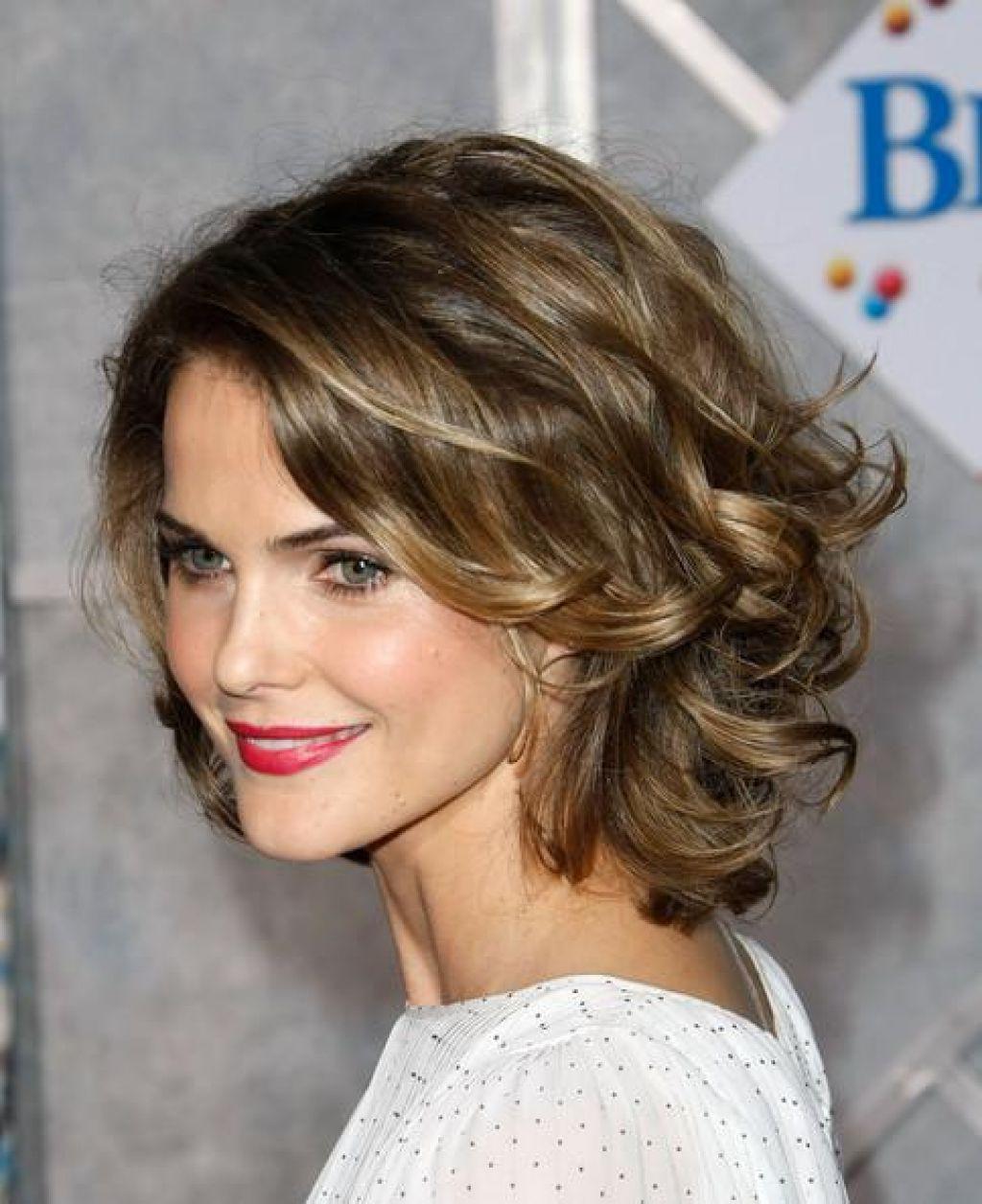 19 Short To Medium Cuts For Curly And Wavy Hair 2018 | Hairstyle Guru Regarding Women Short To Medium Hairstyles (View 24 of 25)