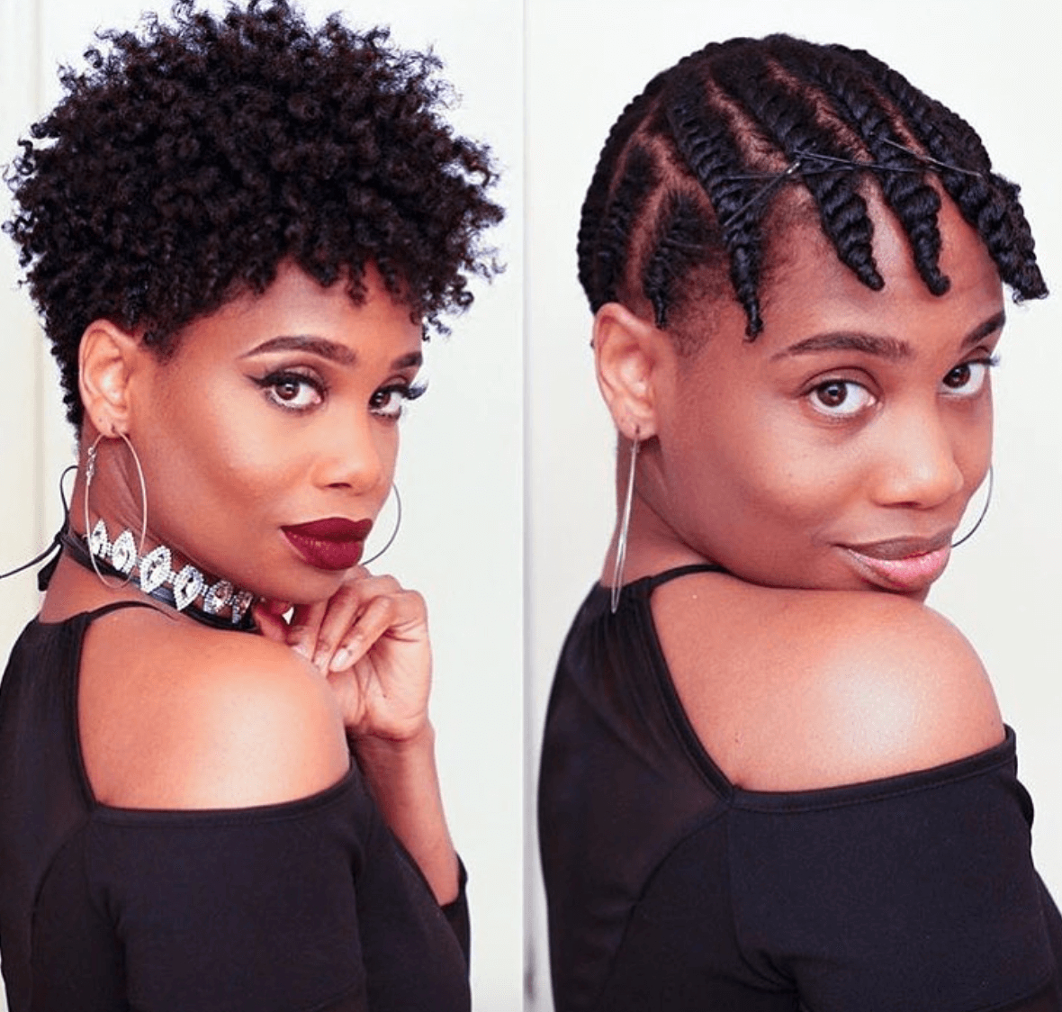 19 Stunning Quick Hairstyles For Short Natural African American Hair With Short Haircuts For Kinky Hair (View 14 of 25)