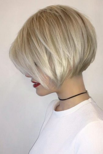 19 Trendy Styles Of Bob Haircuts For Fine Hair | Ladylife Intended For Tousled Razored Bob Hairstyles (View 23 of 25)