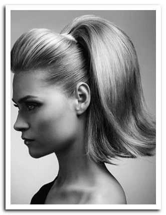 1950 Hair Styles Images | Previous Image 1950S Pin Up Girl Hair In Sleek Ladylike Ponytail Hairstyles (View 19 of 25)