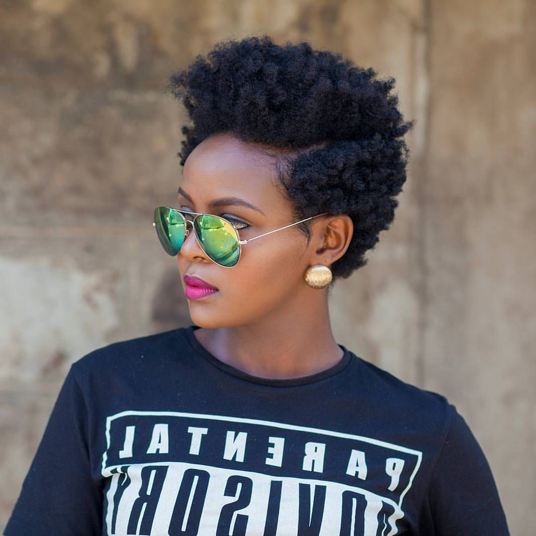 2 Day Old Bantu Knot Out@sheilandinda || Tapered Cut (View 1 of 25)