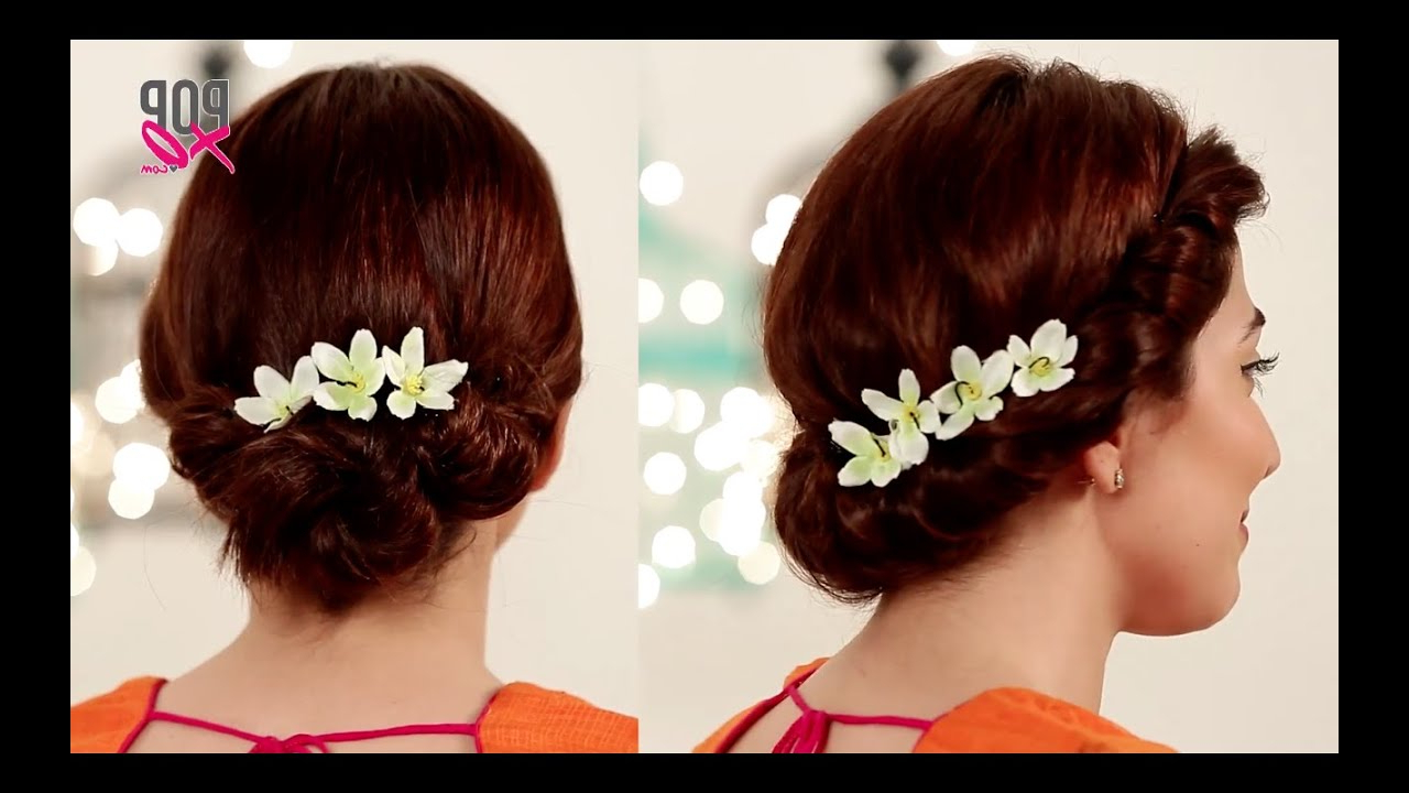 2 Fab Wedding Hairstyles For Short Hair – Popxo Shaadi – Youtube Inside Brides Hairstyles For Short Hair (View 19 of 25)