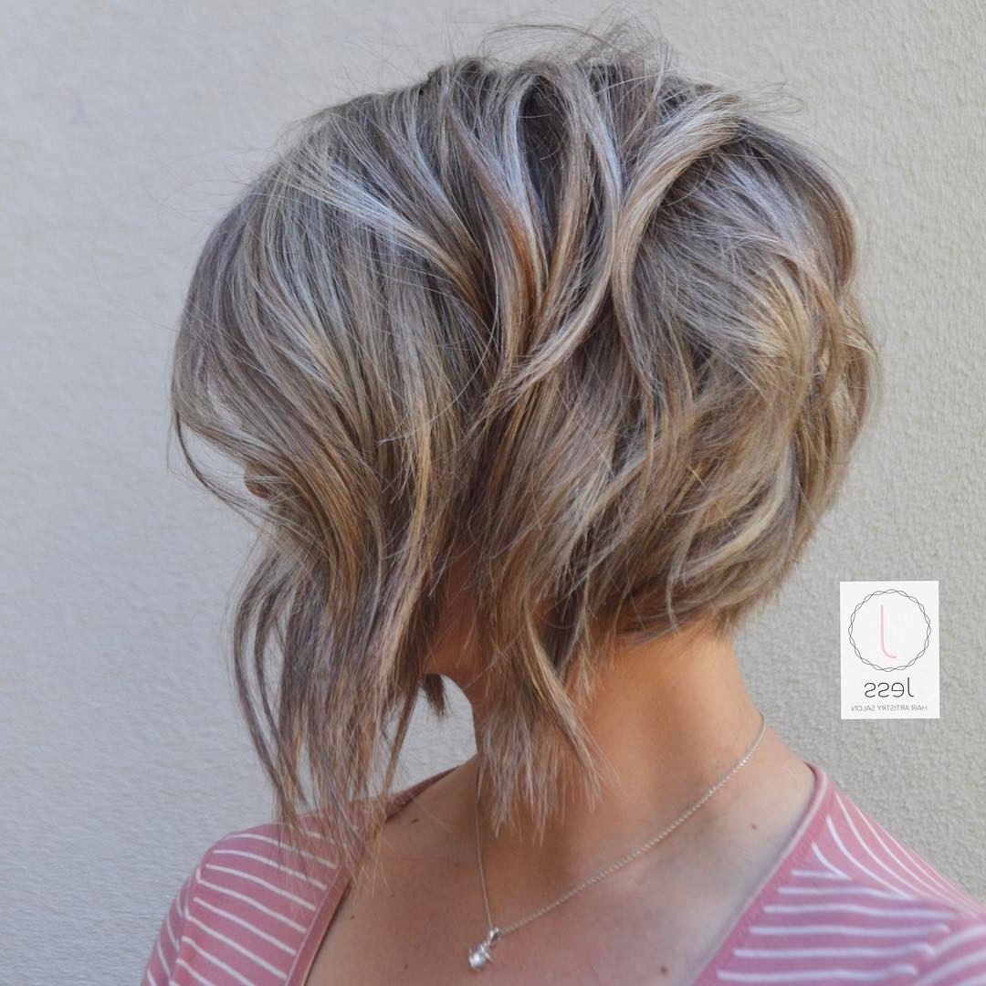 20 Adorable Ash Blonde Hairstyles To Try: Hair Color Ideas 2018 Inside Ash Blonde Short Hairstyles (View 2 of 25)