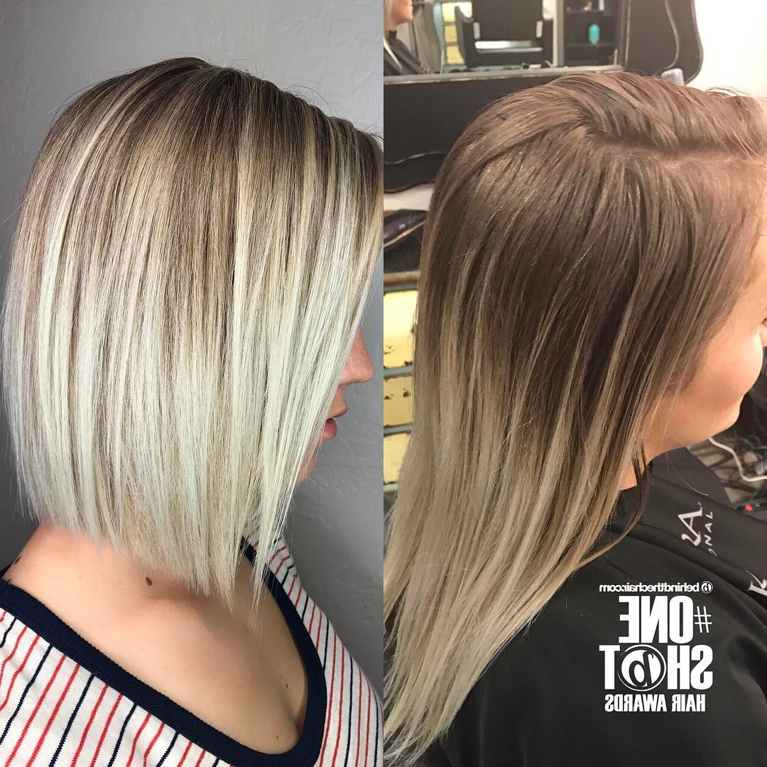 20 Adorable Ash Blonde Hairstyles To Try: Hair Color Ideas 2018 Pertaining To Ash Blonde Short Hairstyles (View 12 of 25)