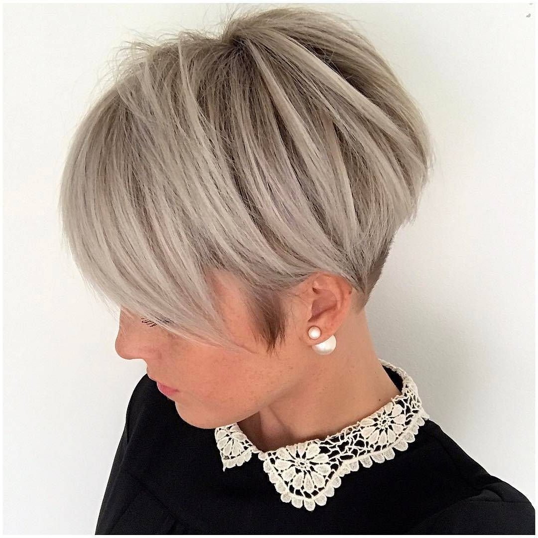 20 Adorable Ash Blonde Hairstyles To Try: Hair Color Ideas 2018 Within Short Blonde Styles (View 6 of 25)