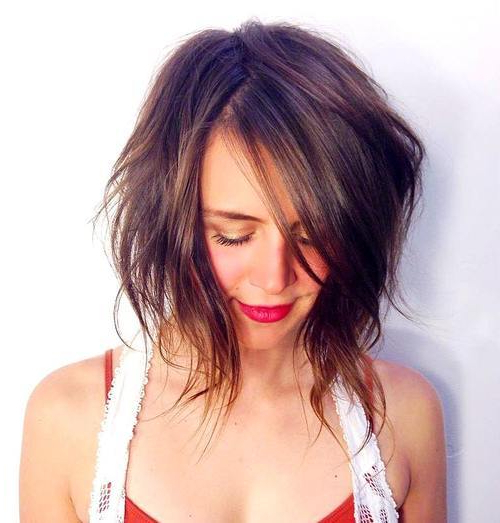 20+ Adorable Choppy Bob Haircuts – Hairstyles Weekly With Regard To Choppy Tousled Bob Haircuts For Fine Hair (View 14 of 25)